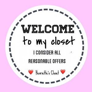 Welcome to my Closet 🎀
